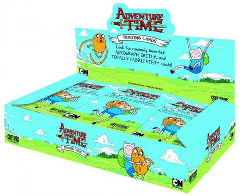 Adventure Time Trading Card Box [24 Packs]