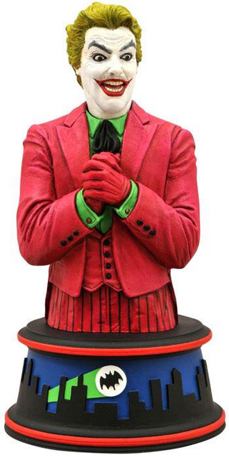Batman 1966 TV Series The Joker 6-Inch Bust