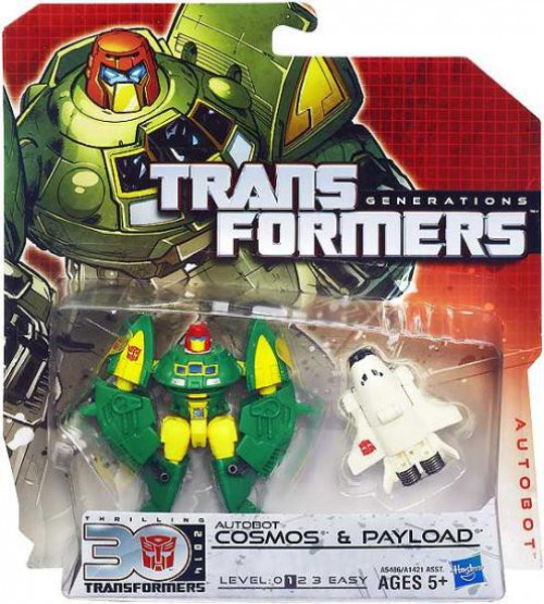 Transformers Generations 30th Anniversary Legends Cosmos & Payload Legend Action Figure 2-Pack