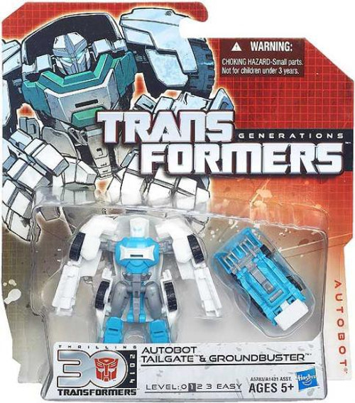Transformers Generations 30th Anniversary Legends Autobot Tailgate & Groundpounder Legend Action Figure 2-Pack