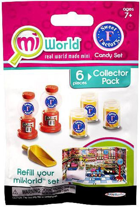 MiWorld Sweet Factory Candy Set Collector Pack [Gumbal Machines]