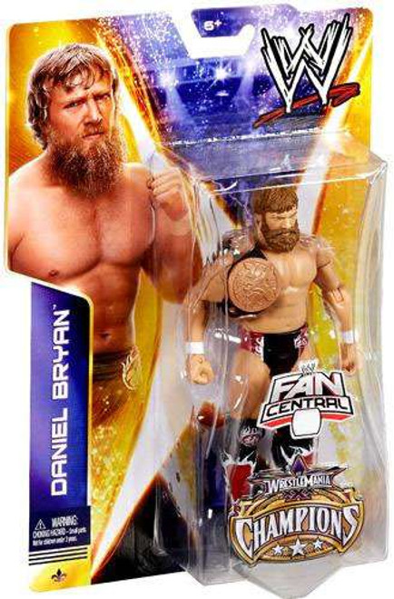 WWE Wrestling Wrestlemania 30 Daniel Bryan Exclusive Action Figure