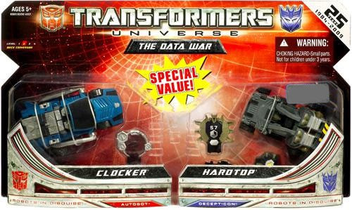 Transformers Universe The Data War Exclusive Action Figure 2-Pack
