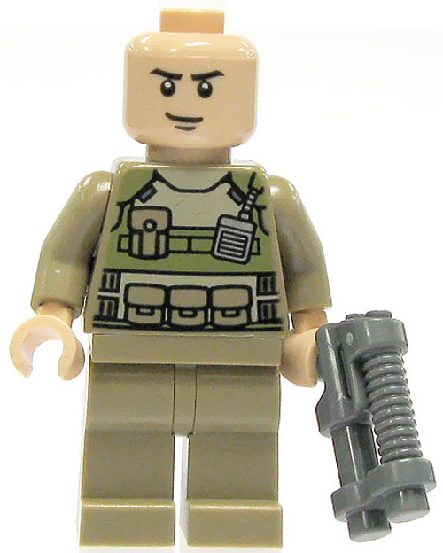 LEGO DC Universe Super Heroes Colonel Hardy Minifigure [Loose]