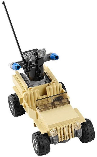 LEGO DC Universe Super Heroes Military Jeep Loose Vehicle [Loose]