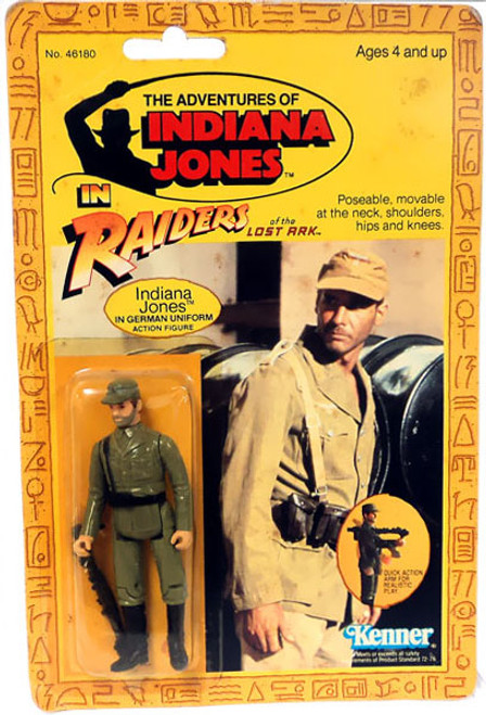 Raiders of the Lost Ark Vintage Indiana Jones Action Figure [German Uniform]