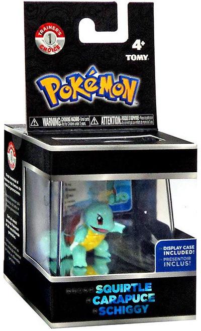 Pokemon Squirtle Trainer's Choice Mini Figure