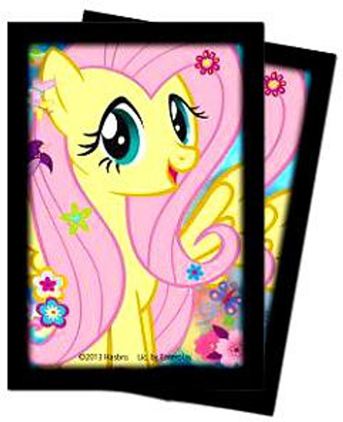 Ultra Pro My Little Pony Trading Card Game Fluttershy Deck Protector Small Card Sleeves [60 Count]