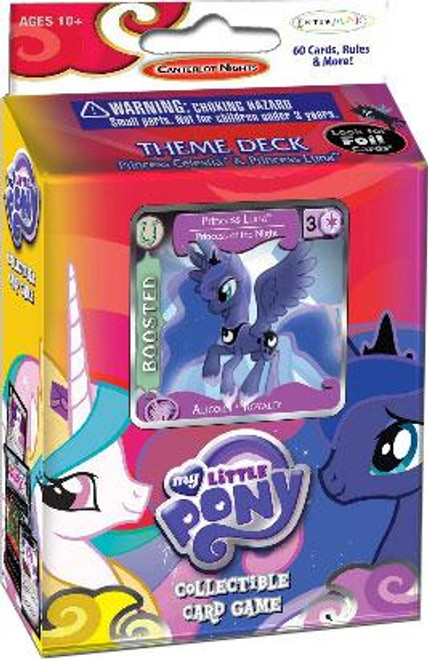 My Little Pony Collectible Card Game Canterlot Nights Princess Luna Theme Deck