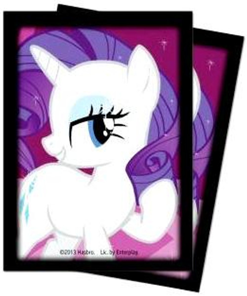 Ultra Pro My Little Pony Collectible Card Game Card Supplies Rarity Deck Protector Card Sleeves [65 Count]