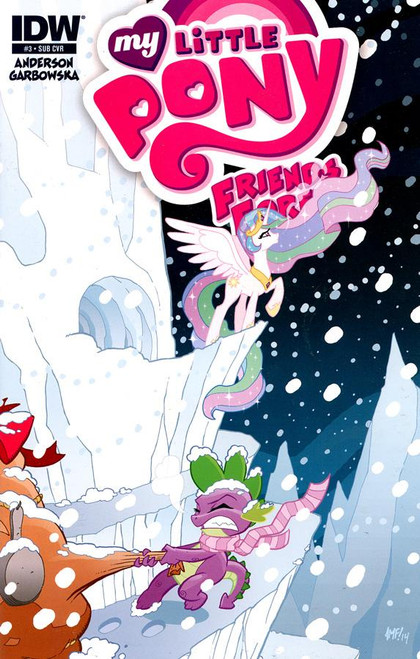My Little Pony #3 Comic Book [Subscription Cover]
