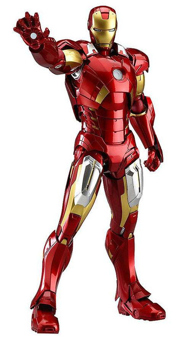 Marvel Avengers Figma Series Iron Man Action Figure [Mark VII]