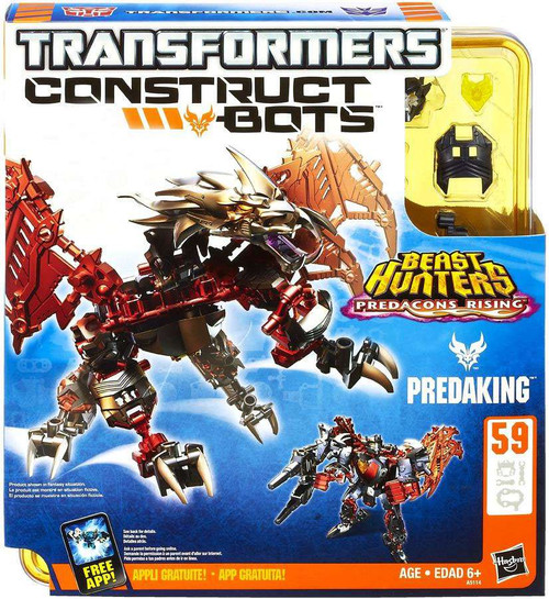 Transformers Beast Hunters Construct-A-Bots Series 1 Predaking Exclusive Action Figure