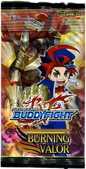 Future Card BuddyFight Trading Card Game Burning Valor Character Pack Booster Pack BFE-CP01 [5 Cards]