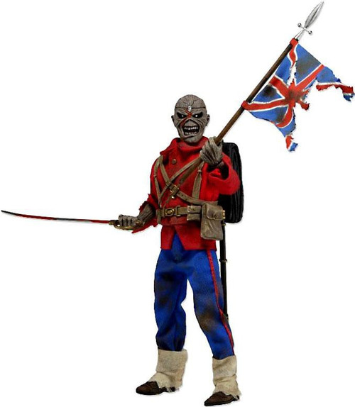 NECA Retro Iron Maiden Trooper Clothed Action Figure
