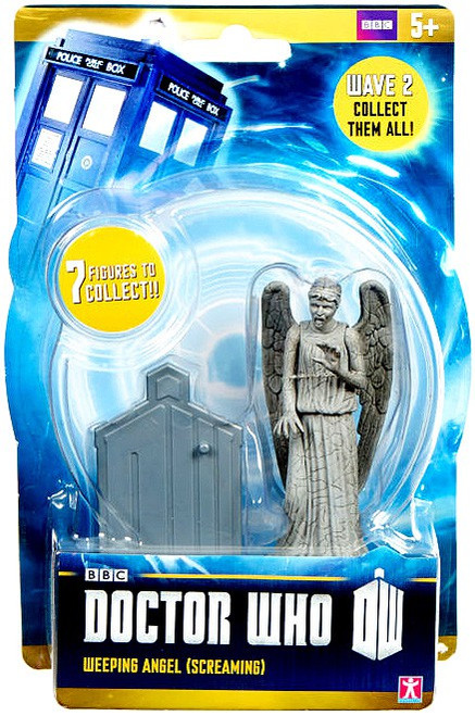 Doctor Who Wave 2 Weeping Angel Action Figure [Screaming]
