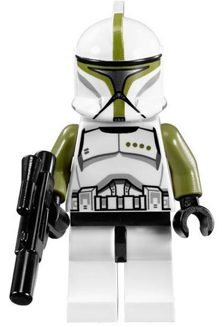 LEGO Star Wars The Clone Wars Clone Commander Minifigure [Olive Green Loose]