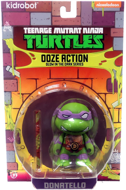 Teenage Mutant Ninja Turtles Nickelodeon Ooze Action Glow in the Dark Series Donatello 3-Inch Mini Figure