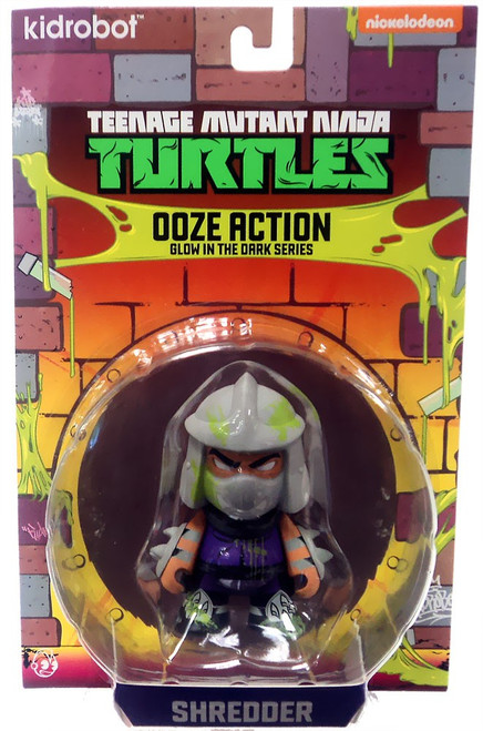 Teenage Mutant Ninja Turtles Nickelodeon Ooze Action Glow in the Dark Series Shredder 3-Inch Mini Figure