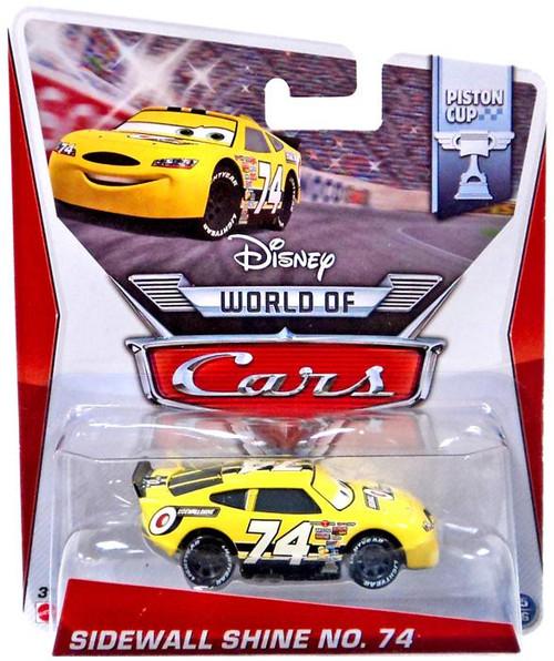 Disney / Pixar Cars The World of Cars Sidewall Shine No. 74 Diecast Car #15