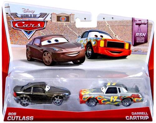 Disney / Pixar Cars The World of Cars Bob Cutlass & Darrell Cartrip Diecast Car 2-Pack