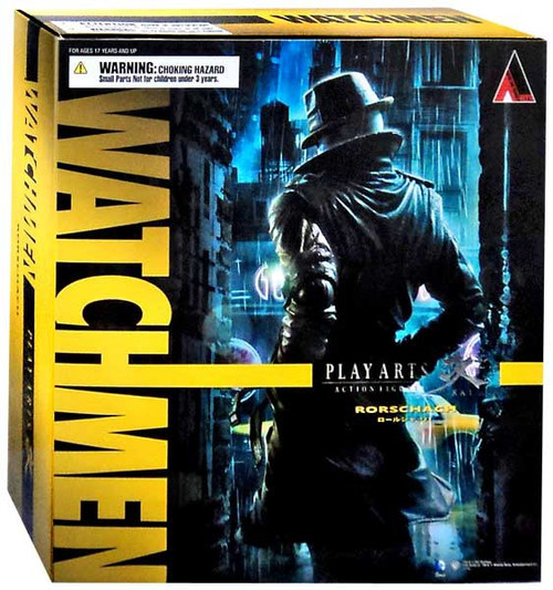 Watchmen Play Arts Kai Rorschach Action Figure