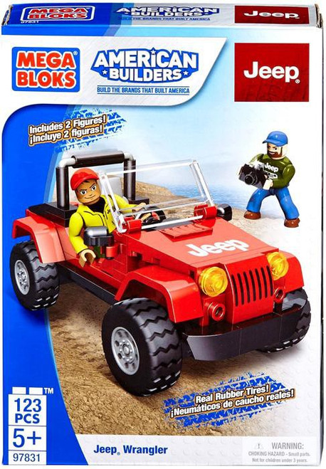 Mega Bloks American Builders Jeep Wrangler Set #97831
