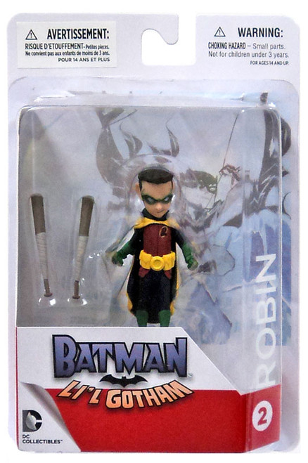 DC Batman Lil Gotham Robin Mini Figure