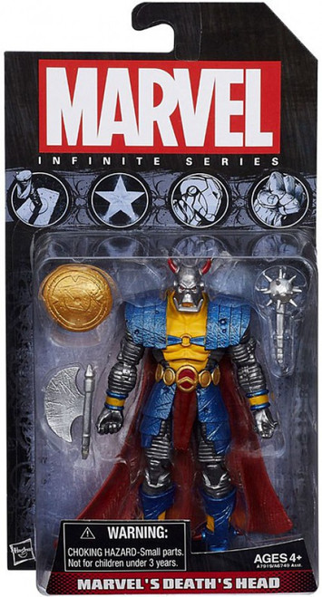 Avengers Infinite Series 2 Marvel's Death's Head Action Figure