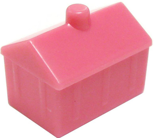 My Little Pony Monopoloy Parts 12 Pink Castles 1.5-Inch [Loose]