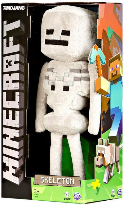 Minecraft Skeleton 12-Inch Plush