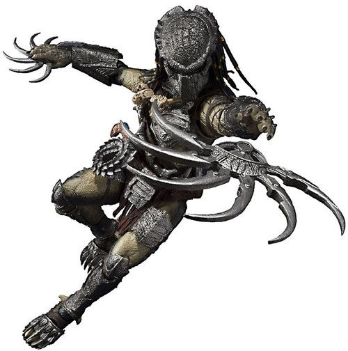 Alien vs Predator S.H. MonsterArts Wolf Predator Action Figure [Heavy Armed Version]