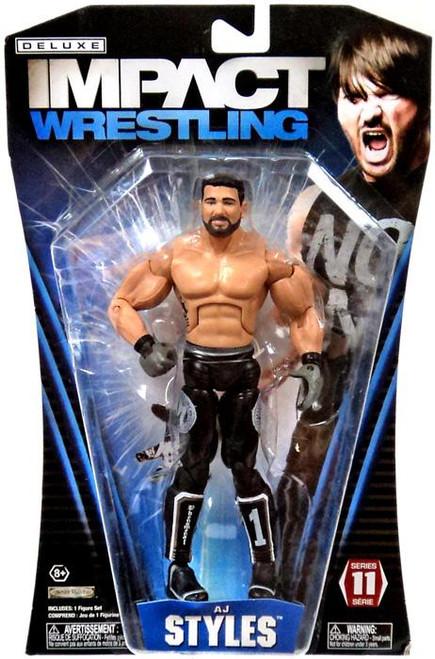 TNA Wrestling Deluxe Impact Series 11 AJ Styles Action Figure