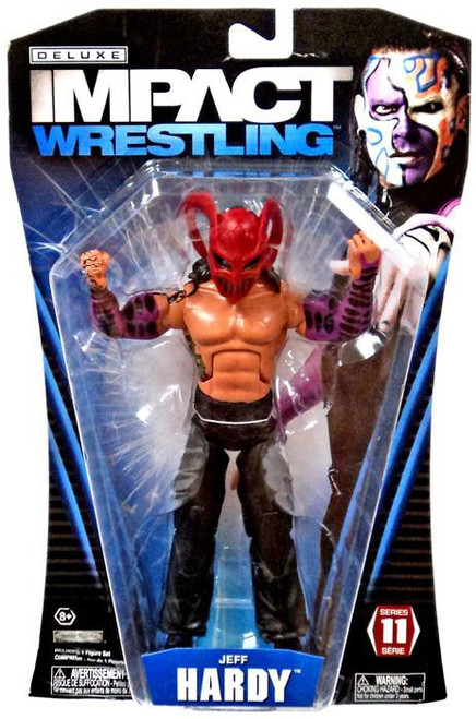 TNA Wrestling Deluxe Impact Series 11 Jeff Hardy Action Figure [Willow]