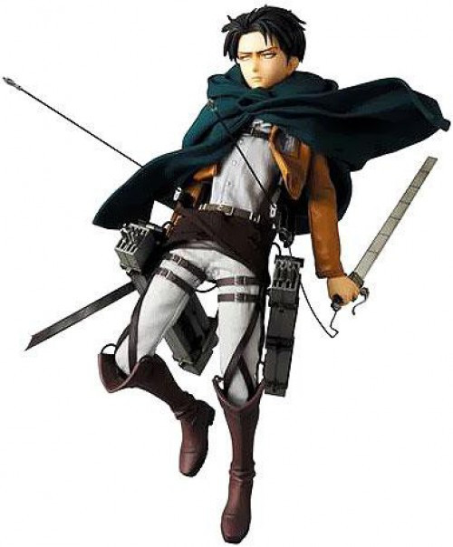 Attack on Titan Real Action Heroes Levi Collectible Figure