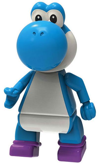 K'NEX Super Mario Yoshi 2-Inch Minifigure [Blue Loose]