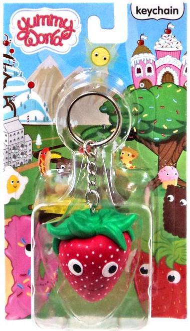 Yummy World Sassy Keychain [Strawberry]