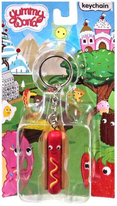 Yummy World Franky Keychain [Hot Dog]