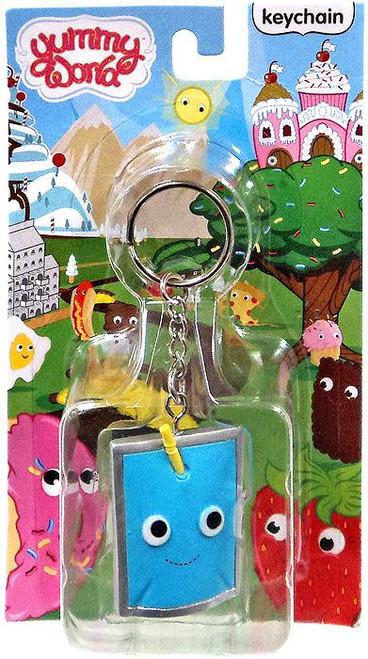 Yummy World Blue Juice Pouch Keychain