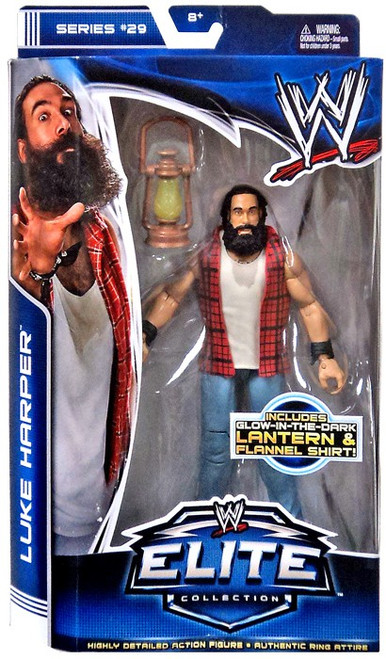 WWE Wrestling Elite Collection Series 29 Luke Harper {Brodie Lee} Action Figure [Lantern & Flannel Shirt]