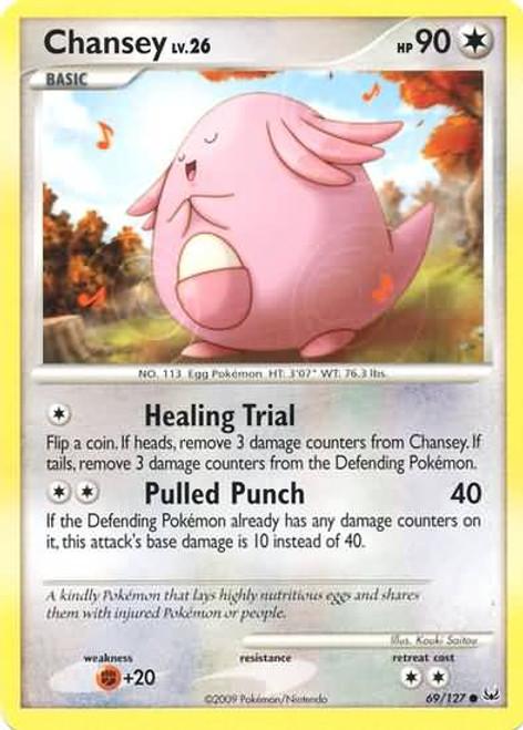 Pokemon Platinum Common Chansey #69