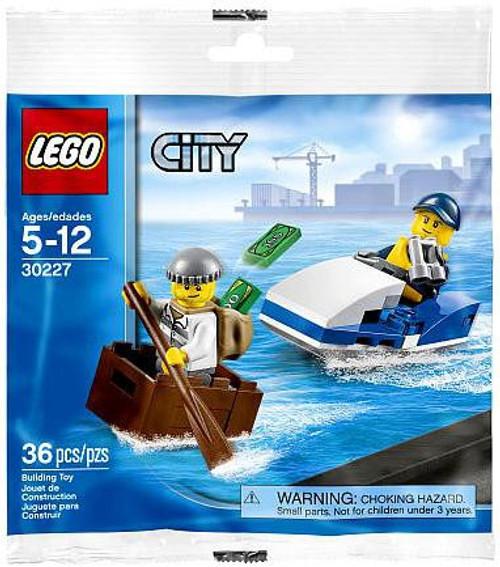 LEGO City Police Watercraft Mini Set #30227 [Bagged]