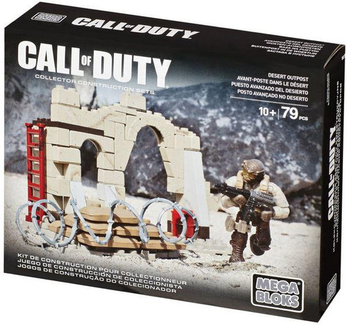 Mega Bloks Call of Duty Desert Outpost Set #06846