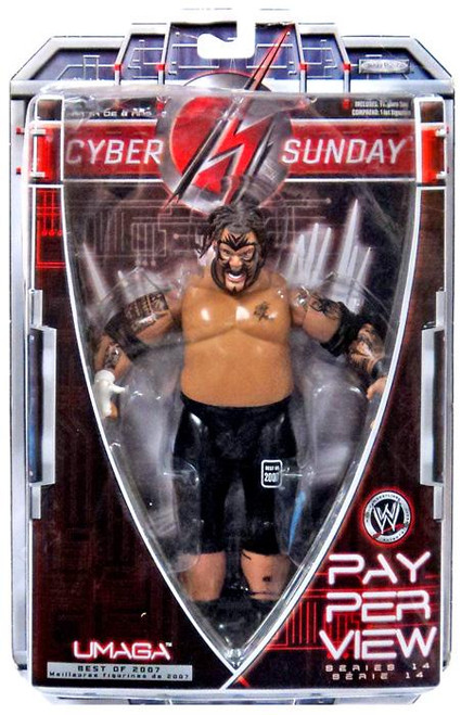 WWE Wrestling Ruthless Aggression Best of 2007 Series 1 Umaga Action Figure