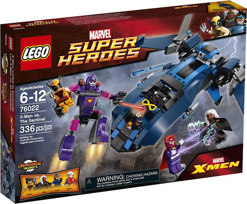 LEGO Marvel Super Heroes X-Men vs The Sentinel Set #76022