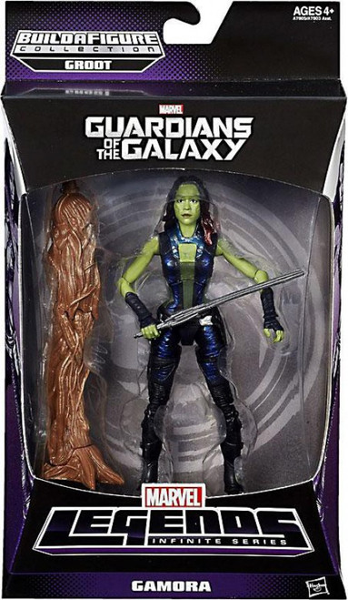 Guardians of the Galaxy Marvel Legends Groot Series Gamora Action Figure