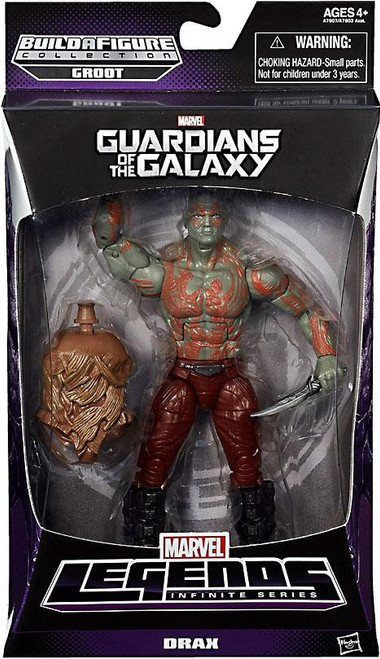 Guardians of the Galaxy Marvel Legends Groot Series Drax Action Figure
