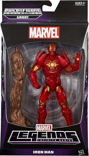 Marvel Legends Groot Series Iron Man Action Figure