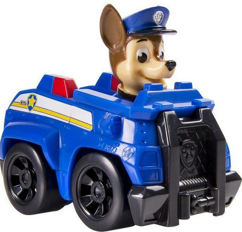 Paw Patrol Rescue Racer Chase in Police Vehicle Figure [Figure Does Not Come Out!]