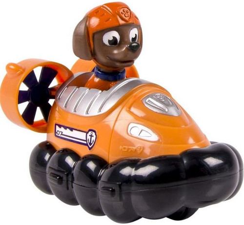 Paw Patrol Rescue Racer Zuma in Hovercraft Figure [Figure Does Not Come Out!]